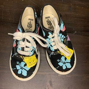 Vans Spongebob Squarepants toddler sneakers